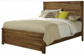 Melrose Driftwood Panel Bed