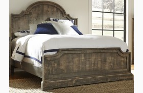 Meadow Weathered Gray Panel Bed