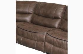 Remus Mocha Finish Armless Chair