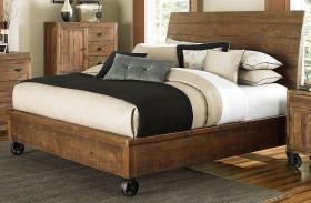 River Ridge Island Bed With Casters