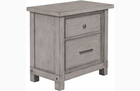 Prospect Hill Gray Finish Nightstand