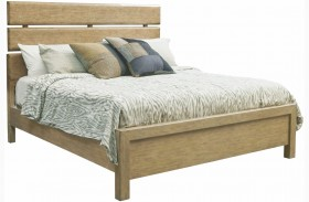 Flatbush Brown Plank Bed