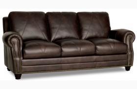 Solomon Italian Leather Sofa