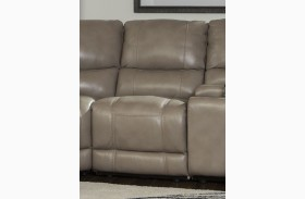 Socrates Armless Power Recliner