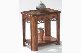 Madison Warm Nutmeg End Table