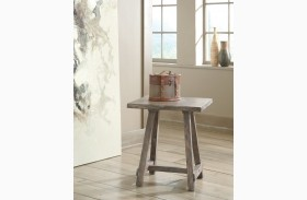 Vennilux Light Brown Finish End Table