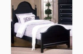 The Cottage Collection Black Youth Panel Bed
