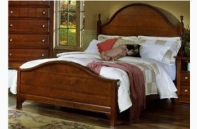 The Cottage Collection Cherry Panel Bed