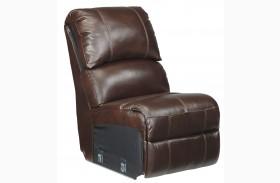 Collinsville Chestnut Finish Armless Chair
