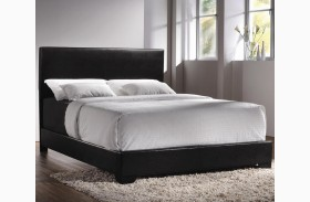 Conner Black Youth Low Profile Bed