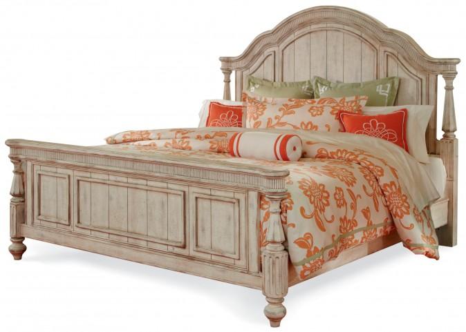 Belmar New Antique Linen Queen Panel Bed