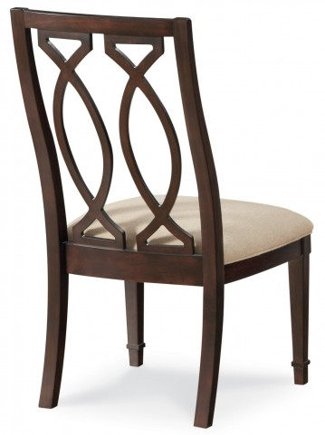 Intrigue Wood Back Side Chair Set of 2