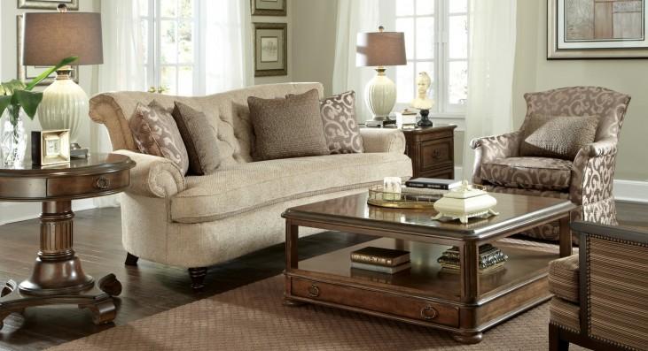 Cotswold Amanda Ivory Living Room Set