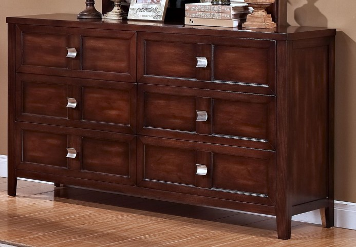 Ridgecrest Distressed Walnut Dresser