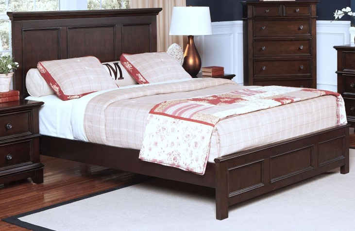 Prescott Sable King Panel Bed