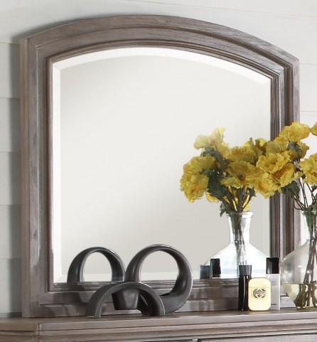 Allegra Pewter Mirror
