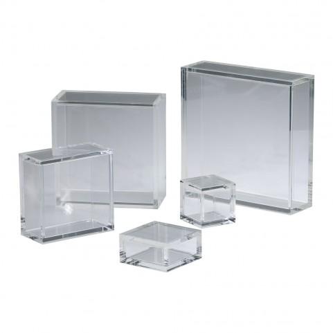 "Square Acrylic 10"" Pedestal"