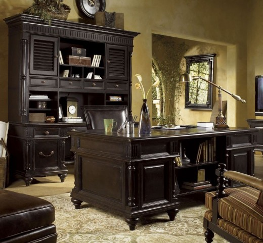 Kingstown Rich Tamarind Admiralty Executive Home Office Set