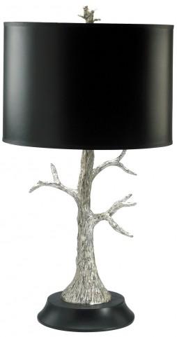 Silver Tree CFL Lamp