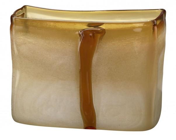 Cream/Cognac Small Vase