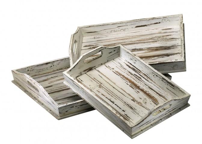 Rectangular 3 Piece Trays