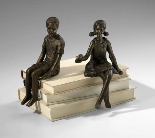 Girl Shelf Figurine