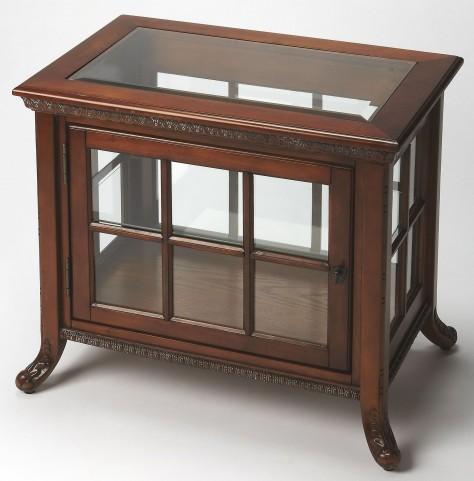 Chopin Vintage Oak Side Chair Curio