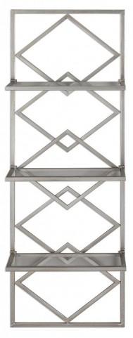 Silvia Silver Wall Shelf