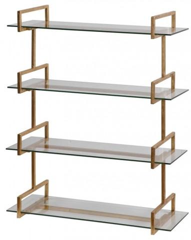 Auley Gold Wall Shelf