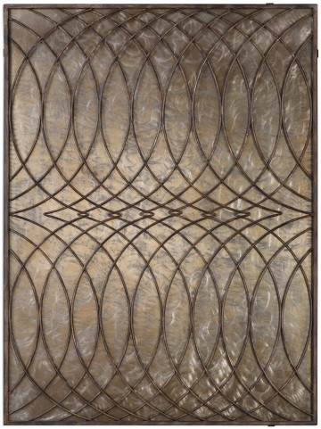 Kanza Antique Bronze Wall Panel