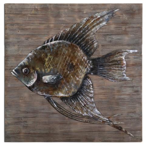 Iron Fish Wall Art