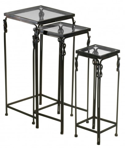 Dupont Square Nesting Tables Set of 3