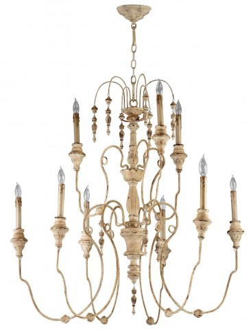 Maison 9 Light Chandelier