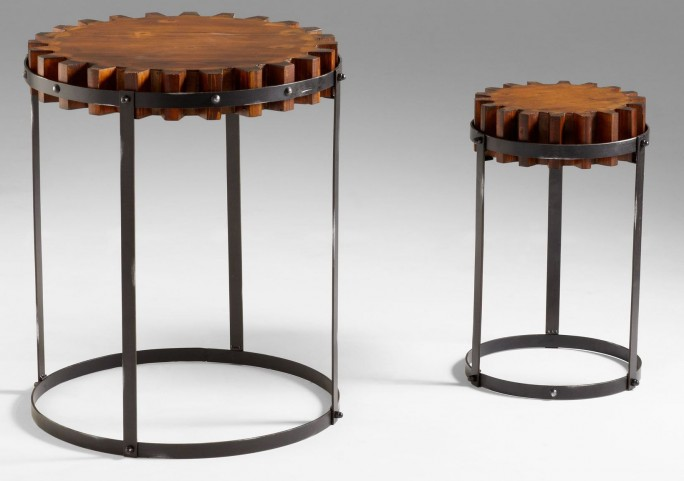 Gear Tables Set of 2