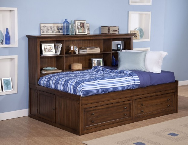 Logan Spice Full Lounge Bed