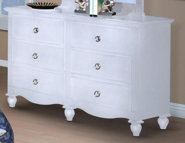 Victoria White Youth Dresser