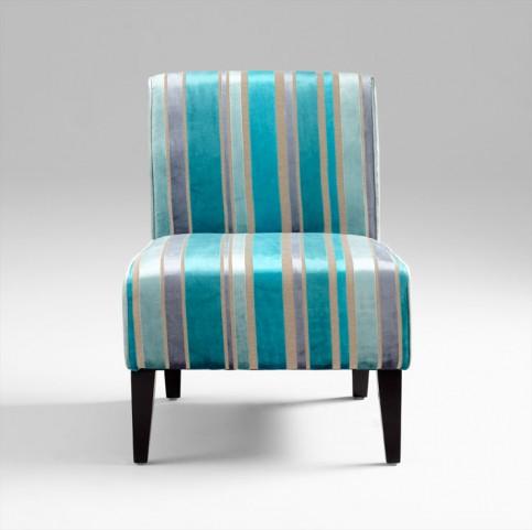 Ms. Stripy Blue Chair