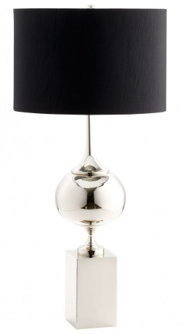 Epic Gray Table Lamp