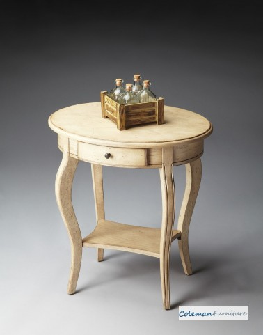 Paraffin Oval Accent Table