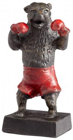 Decorative Bear Down Sculpture