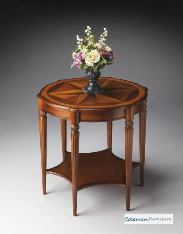 Olive Ash Accent Table