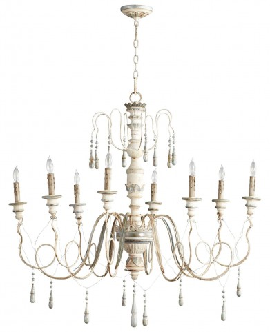 Chantal 8 Light Chandelier