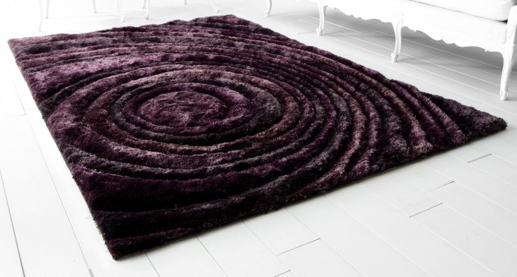 Girare Arte Luxor Purple Small Rug