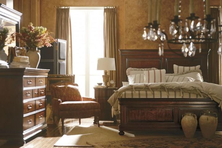 Portfolio Louis Philippe Orleans Panel Bedroom Set