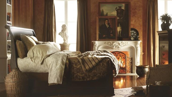 Portfolio Louis Philippe Orleans Sleigh Bedroom Set