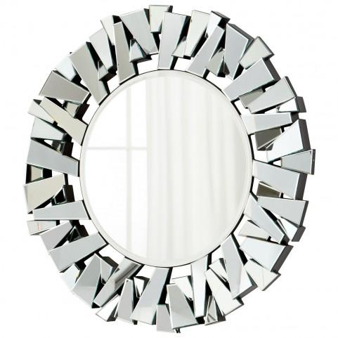 Circle Cityscape Mirror