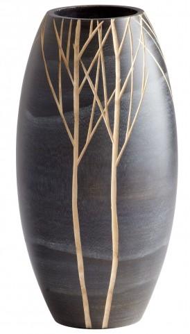 Onyx Winter Small Vase