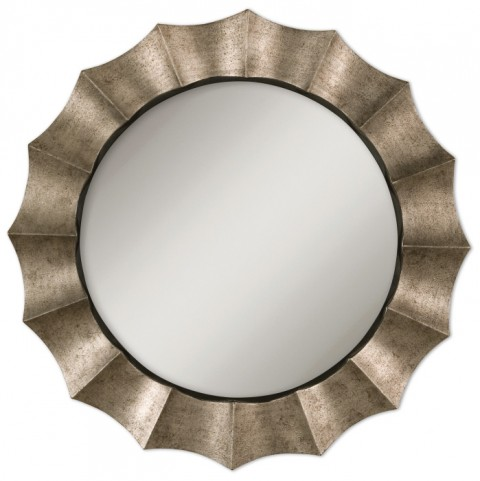Gotham U Antique Silver Mirror