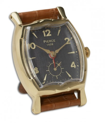 Wristwatch Alarm Square Pierce