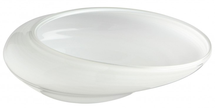 White Oyster Small Bowl